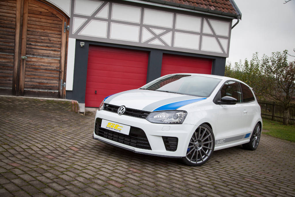 the new st suspensions coilovers for a maximum lowering of vw polo r wrc street and co. Black Bedroom Furniture Sets. Home Design Ideas